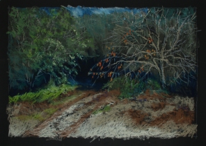 """Into the Thicket 26"""" x 18"""""""