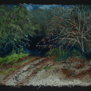 "Into the Thicket 26"" x 18"""