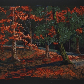 "My Mother's Woods 26"" x 18"""