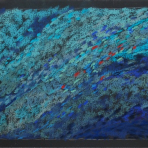 """Swirling Water 26"""" x 8.75"""""""